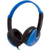 Groov-e Kids DJ Style Headphone - Blue / Black GV590BB